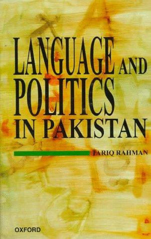 Language and politics in Pakistan