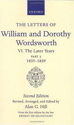 Download The letters of William and Dorothy Wordsworth