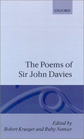 The poems of Sir John Davies