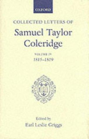 Download Collected Letters of Samuel Taylor Coleridge