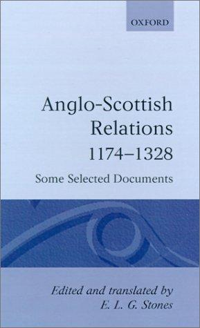 Anglo-Scottish Relations 1174-1328