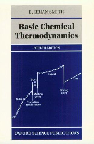 Basic chemical thermodynamics