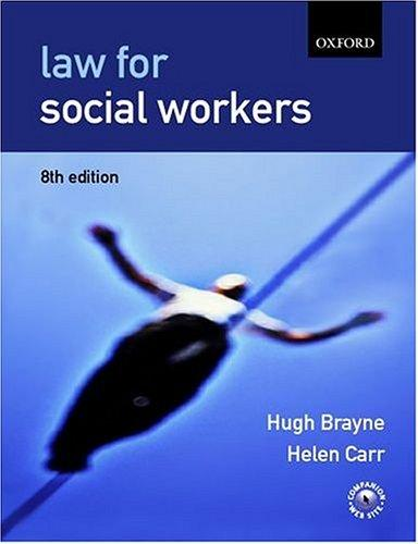 Download Law for social workers