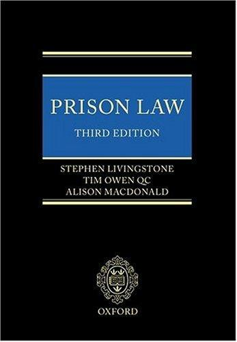 Download Prison law