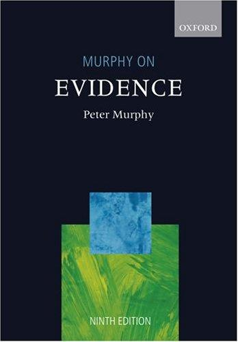 Download Murphy on evidence