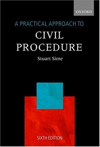 Download A practical approach to civil procedure