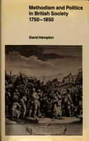 Methodism and politics in British society, 1750-1850