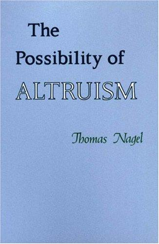 Download The Possibility of Altruism