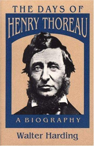 Download The days of Henry Thoreau