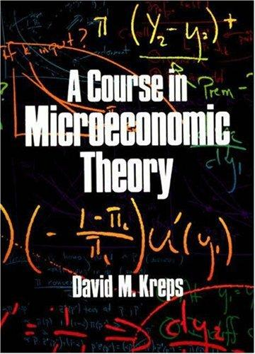 Download A course in microeconomic theory
