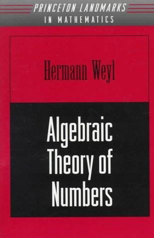 Download Algebraic Theory of Numbers