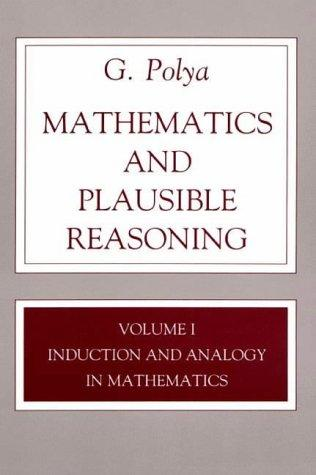 Download Mathematics and plausible reasoning