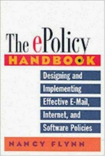 Download The E-Policy Handbook