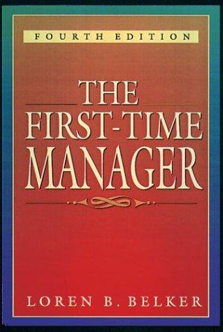 Download The first-time manager