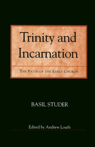 Trinity and incarnation