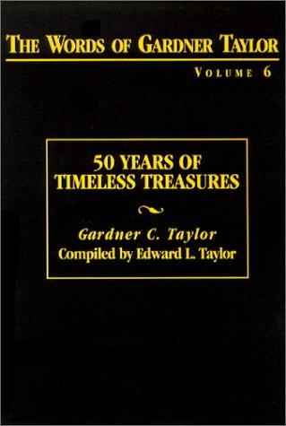 The Words of Gardner Taylor