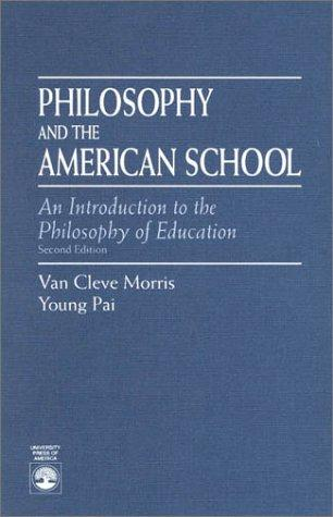 Philosophy and the American school