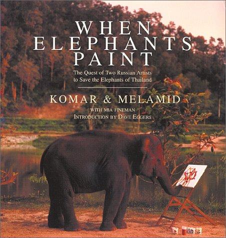 Download When elephants paint
