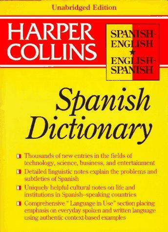 Collins Spanish-English, English-Spanish dictionary