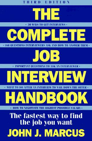 Download Complete job interview handbook