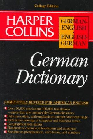 Download Harper Collins German Dictionary/German-English English-German (HarperCollins Bilingual Dictionaries)