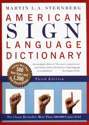 American Sign Language Dictionary, Third Edition [Paperback]