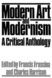 Modern Art And Modernism: A Critical Anthology PDF Download