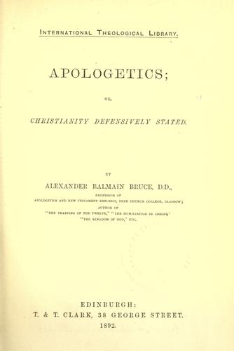 Download Apologetics
