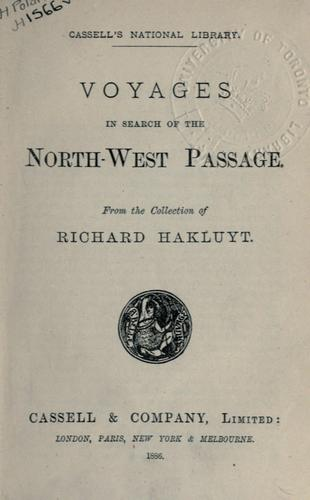Download Voyages in search of the North-West passage.