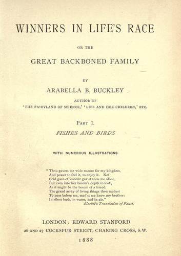 Download Winners in life's race, or, The great backboned family