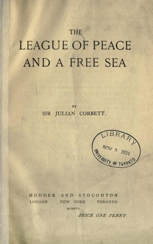 Download The league of peace and a free sea.