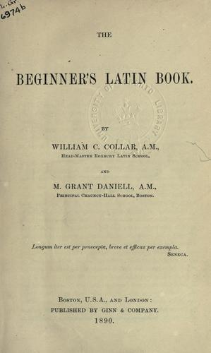 Download The beginner's Latin book.
