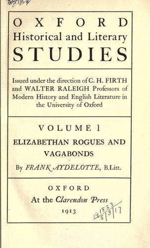 Elizabethan rogues and vagabonds.