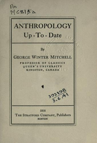 Anthropology up-to-date.