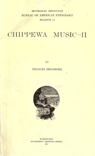 Chippewa music.