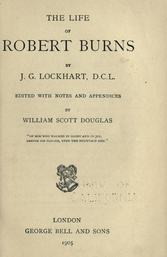 Download The life of Robert Burns