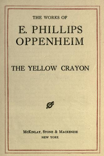 Download The yellow crayon