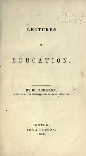 Download Lectures on education