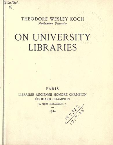 Download On university libraries.