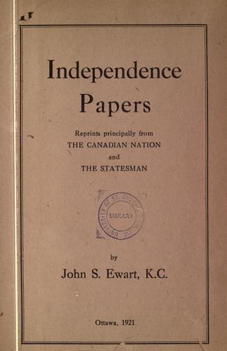 Independence papers