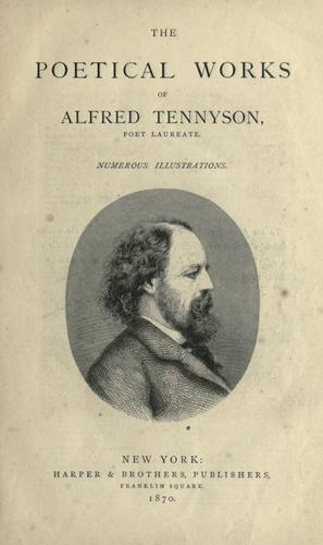 Download The poetical works of Alfred Tennyson, poet laureate …