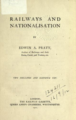 Download Railways and nationalisation.