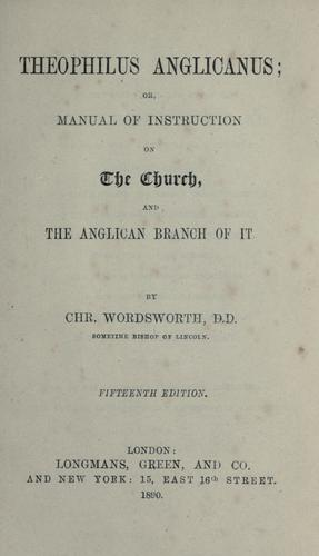 Download Theophilus anglicanus
