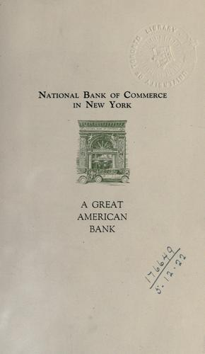 Download National Bank of Commerce in New York –