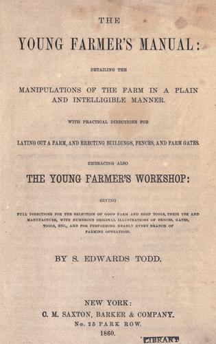 Download The young farmer's manual