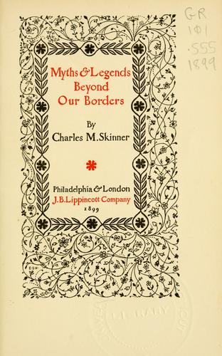 Download Myths & legends beyond our borders