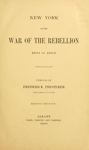 Download New York in the war of the rebellion, 1861 to 1865