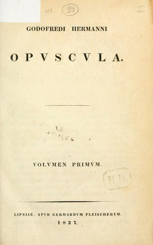 Download Opuscula
