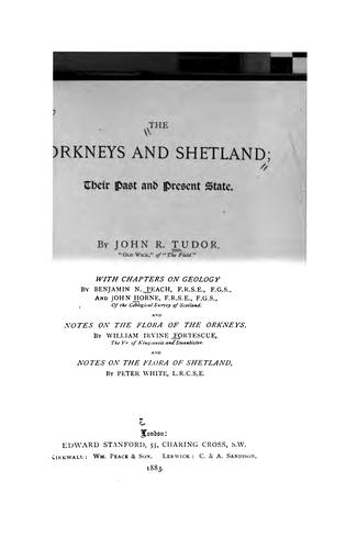 The Orkneys and Shetland