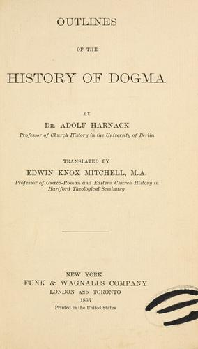 Download Outlines of the history of dogma
